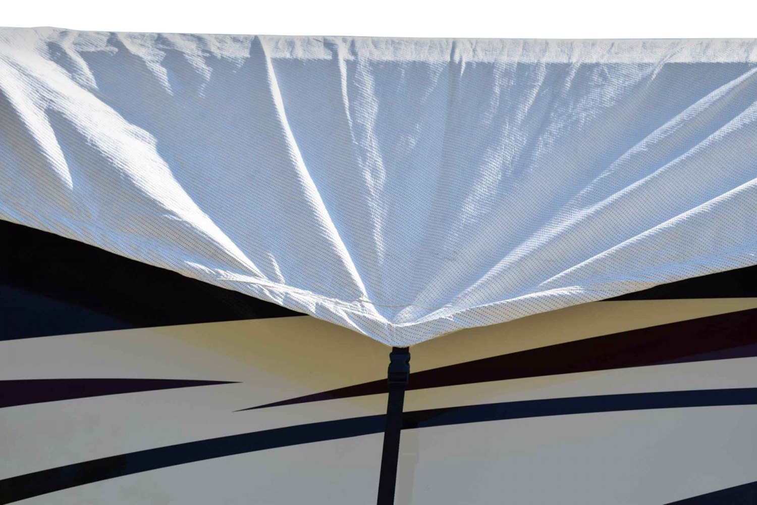Adco 174 Tyvek Polypropylene White Roof Trailer Cover