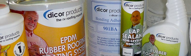 Dicor® - CoolCoat™ EPDM Insulating Roof Coating