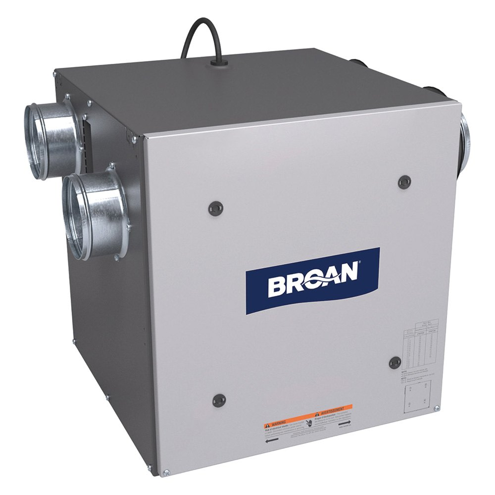 Broan 174 Erv70s Flex Series 70 Cfm Side Port Energy