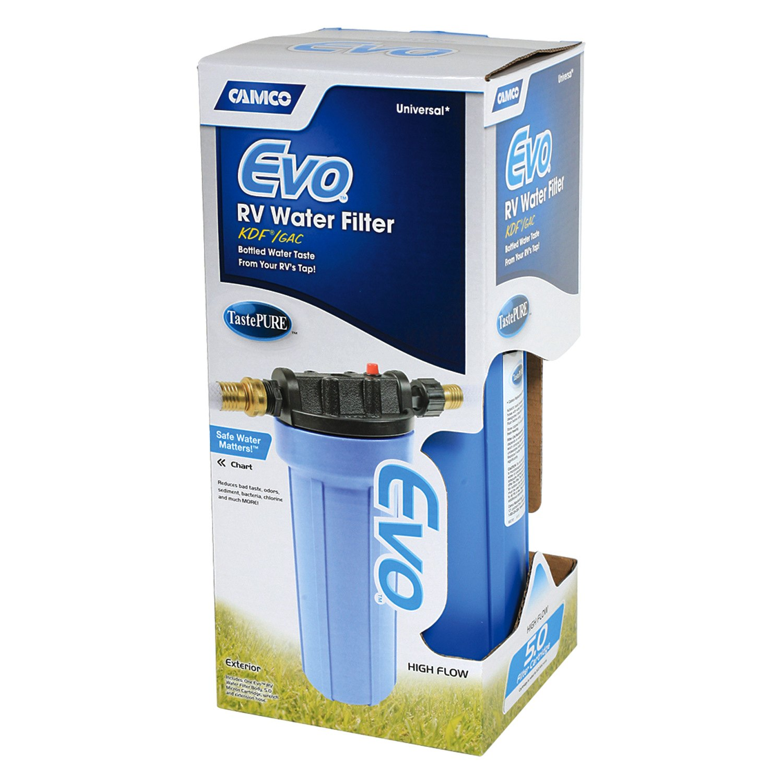 Camco 174 40631 Evo Blue Polypropylene Water Filter