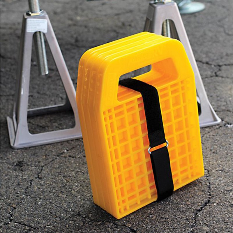 Camco 44595 Yellow 6 3 16 L X 6 3 16 W Stabilizing Jack Pad Camperid Com