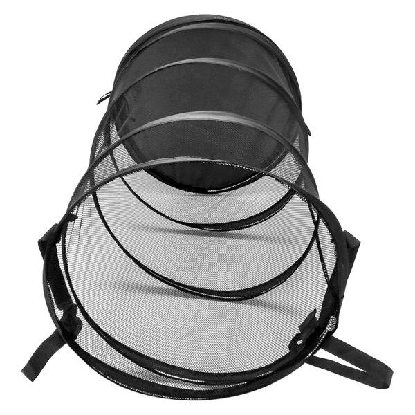 Camco 51977 Black Fabric Pop Up Laundry Bag Camperid Com