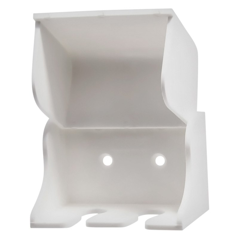 Camco 57203 White Plastic Holder For 2 Toothbrush Camperid Com
