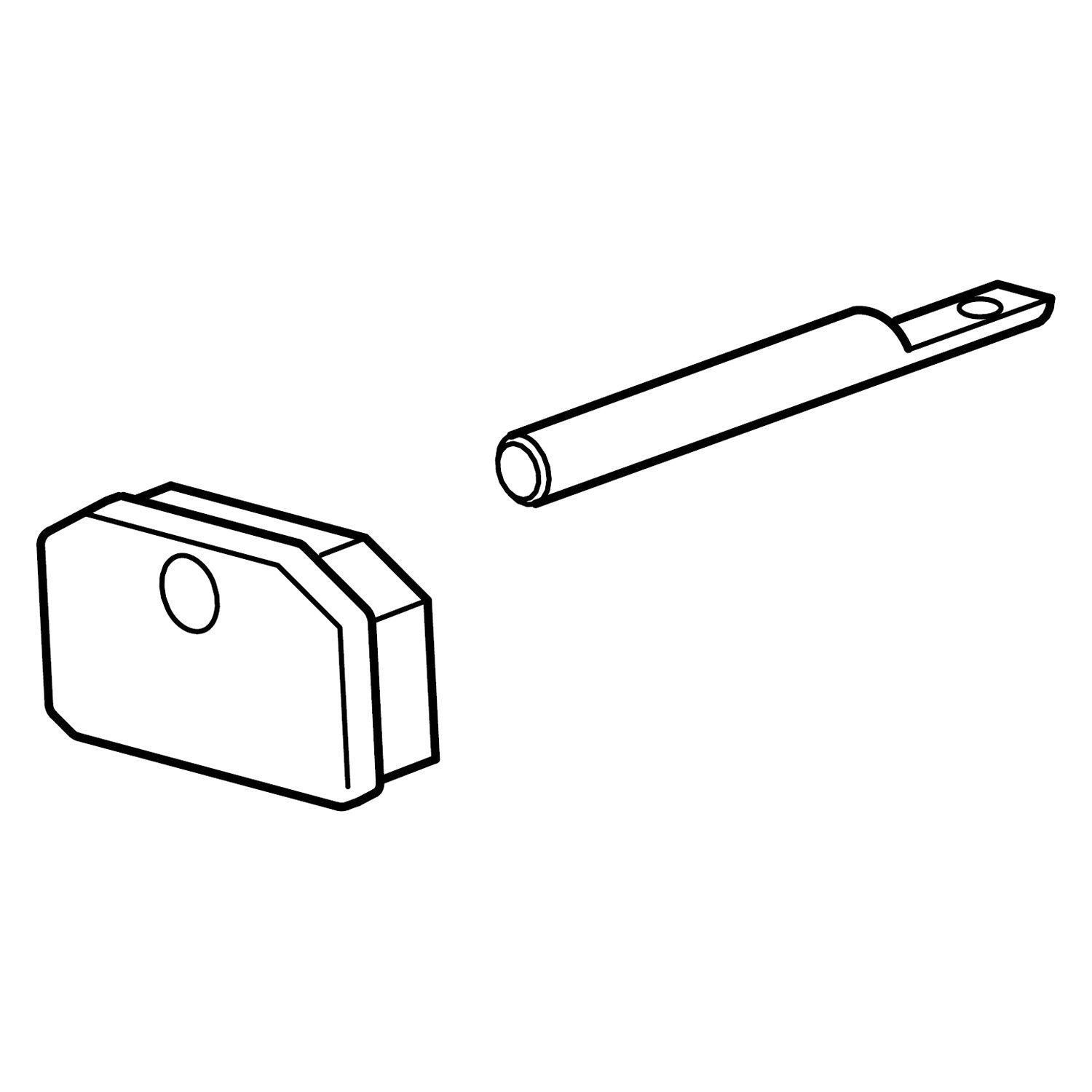 Carefree 174 R00457 Plastic Awning Roller Pin End