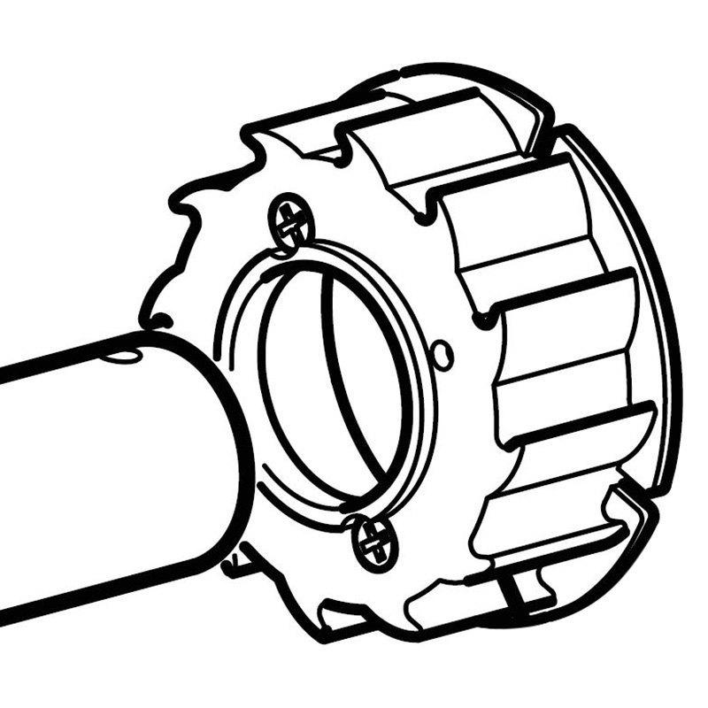 carefree u00ae r00592 - omega  u0026 sideout kover ii u2122 left awning roller bearing