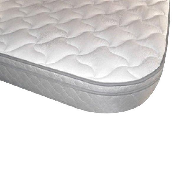 Denver Mattress Rv Supreme Euro Top White Polyurethane With Radius Corners