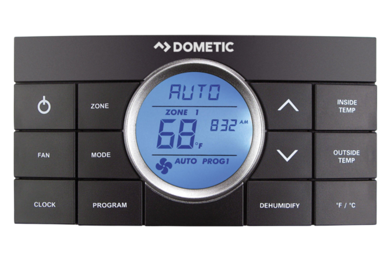 DOMETIC AIR CONDITIONERS 640310CXX1J0 Standard Dometic Penguin II Low-Profile Upper Unit RV Air Conditioner-11.000 BTU Black