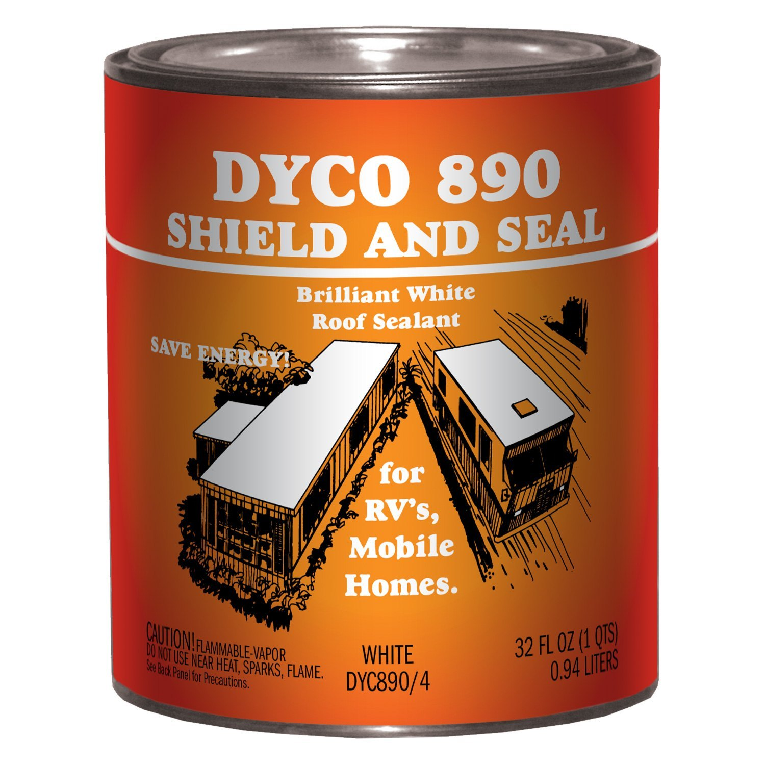 Dyco Paints 174 Shield Amp Seal Roof Sealant Camperid Com