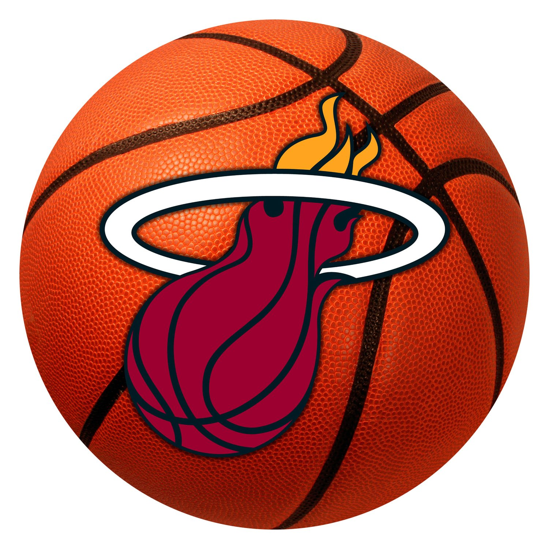 FANMATS 19451 33.75x42.5 Team Color NBA Miami Heat All-Star Mat