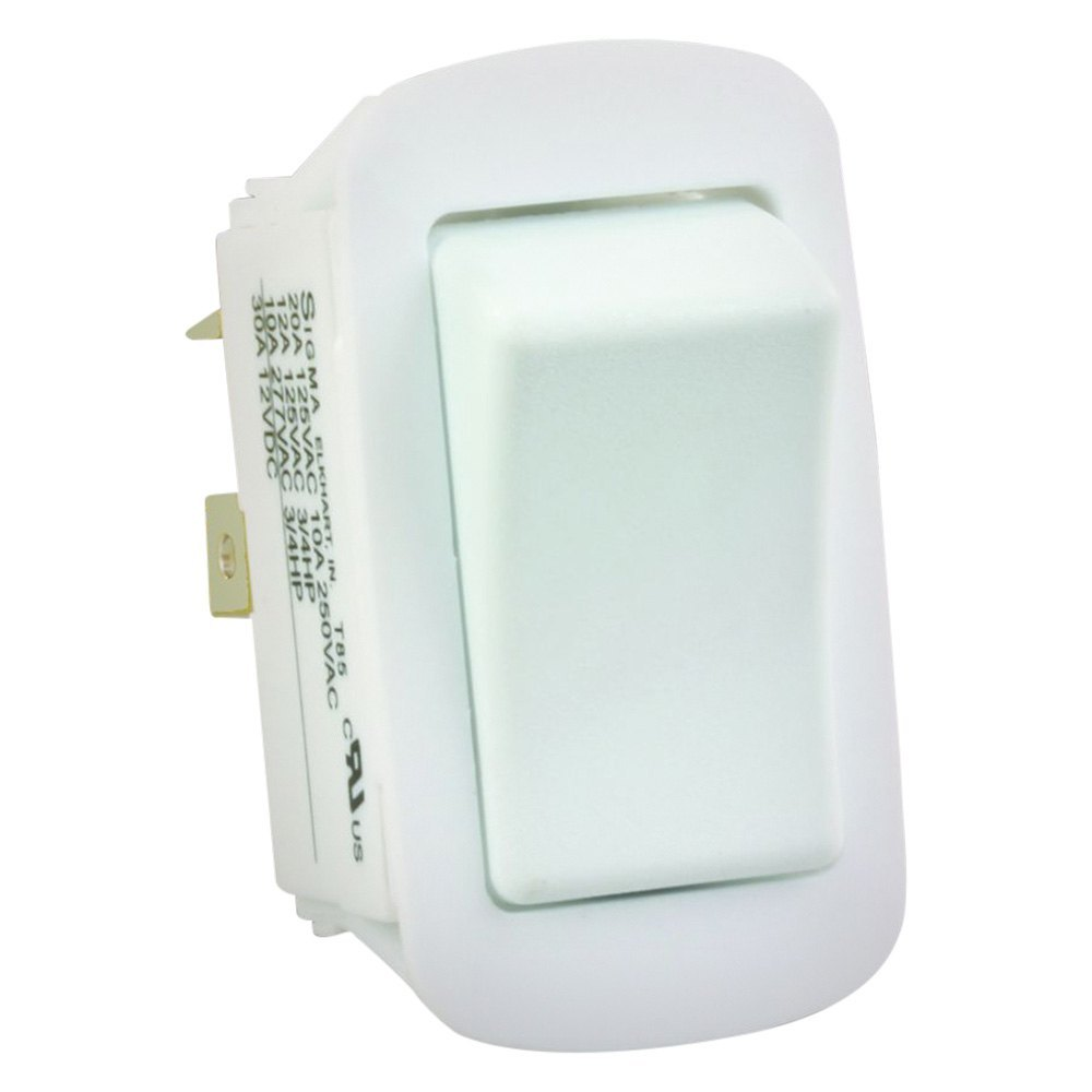 Jr Products 14015 Water Resistant Spst White On Off Switch 125vac Wiring Diagram