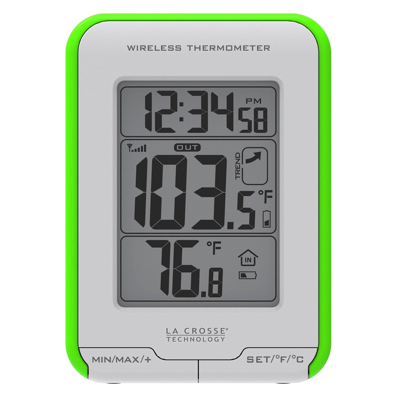 La Crosse Technology Digital Indoor Outdoor Wireless Thermometerla