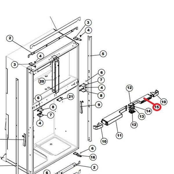 637081 norcold® 637081 refrigerator optical control board camperid com