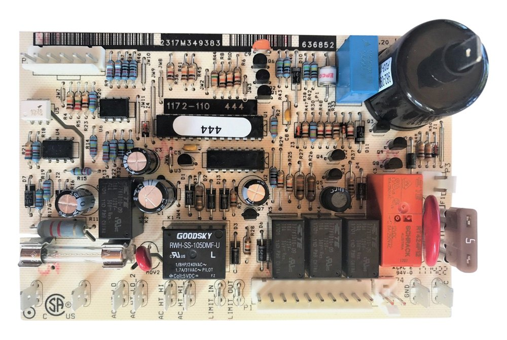 Norcold 637082 Refrigerator Power Supply Circuit Board Ac Dc Schematics