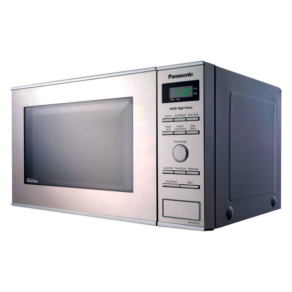 Panasonic 0 8 Cu Ft Gray Microwave