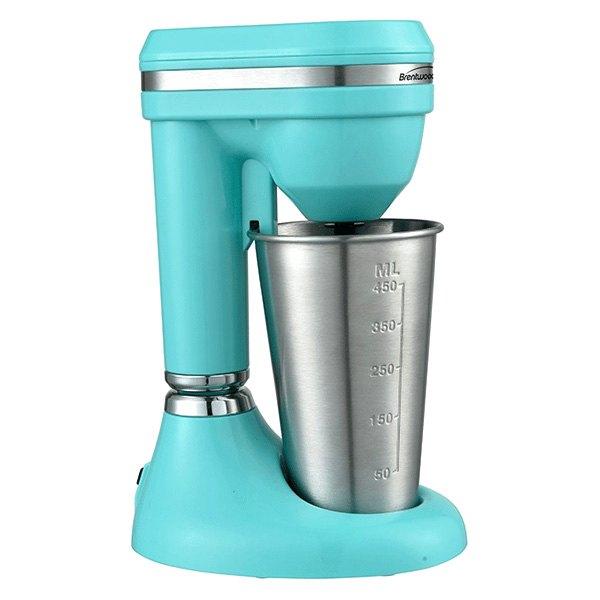 Brentwood Appliances® SM-1200B - Classic™ 450 ml 100W Turquoise Milkshake  Maker
