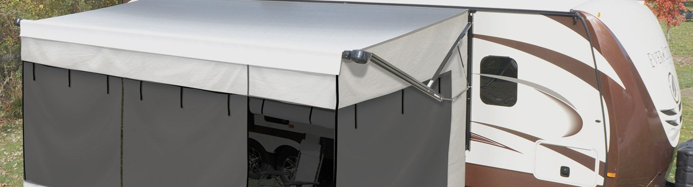 RV Awning Rooms | Screen, Mesh, Privacy - CAMPERiD.com