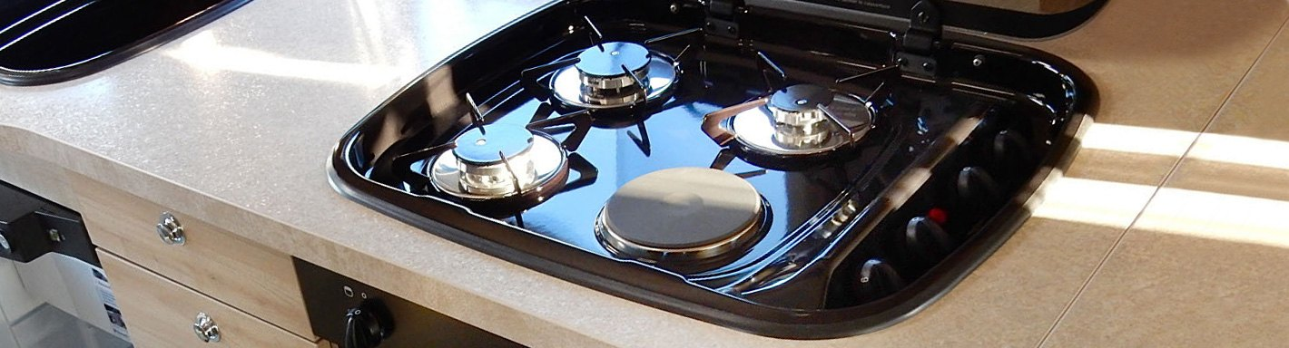 RV Ranges, Cooktops, Stoves, Ovens & Accessories - CAMPERiD com