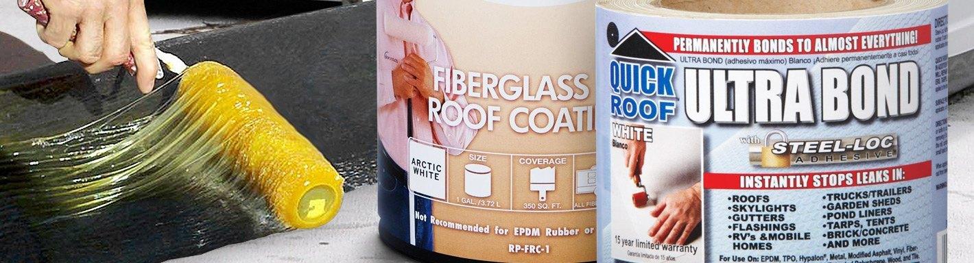 RV Roof Repair | Cleaners, Sealants, Coatings & Kits