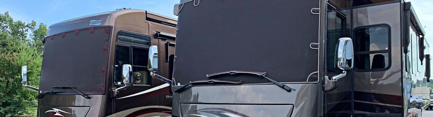 Classic Accessories 80-035-212307-00 Snow White RV Windshield Cover