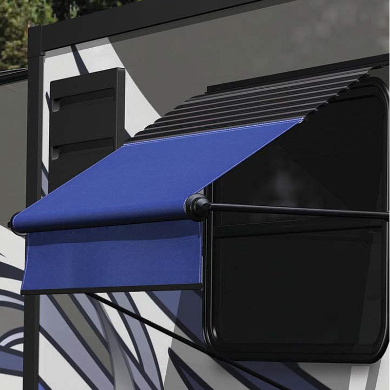 Solera Awnings® V000334764 - XL™ Manual 2.7'L Black Manual ...