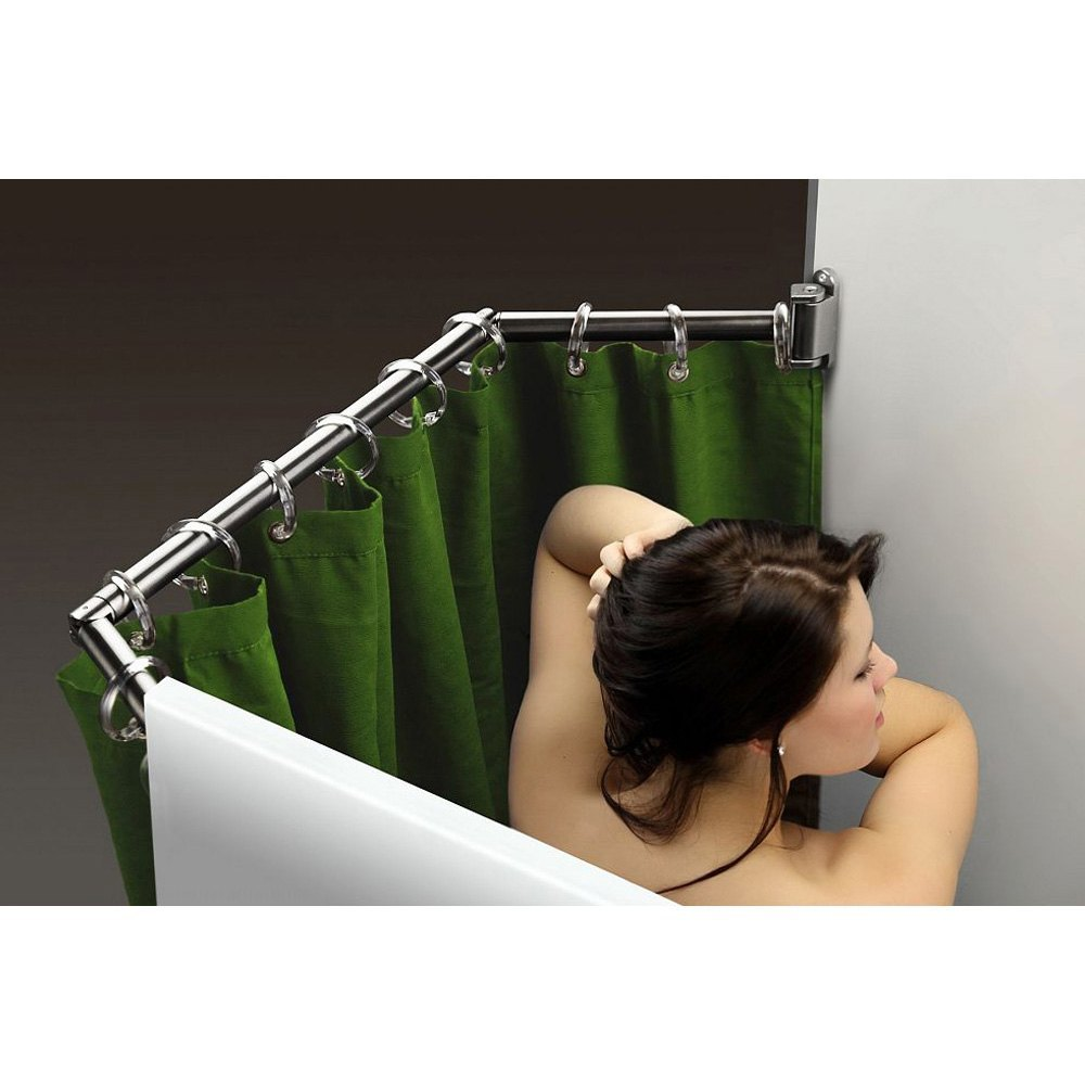Stromberg Carlson® EXT-5460C - Chrome Nickel Extend-A-Shower Curtain Rod