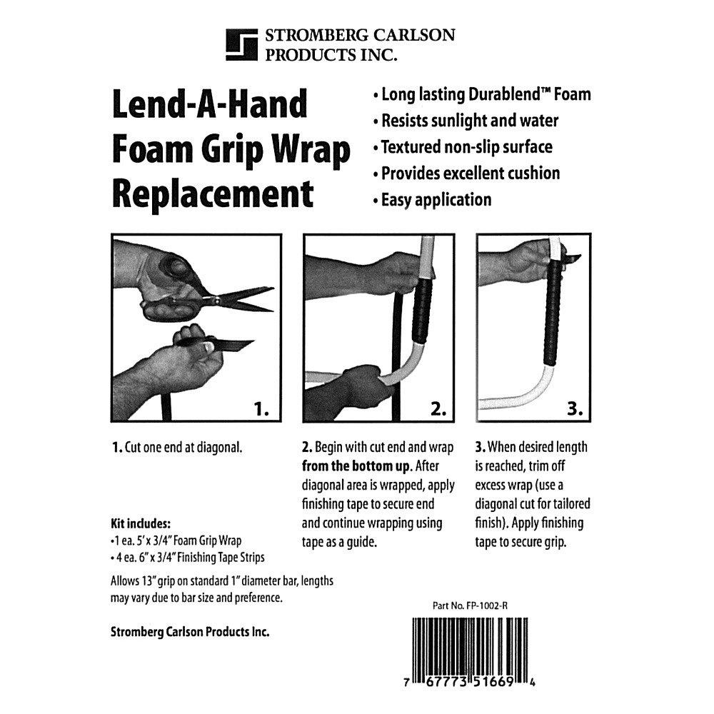 256e2aeefbd4 Stromberg Carlson® FP-1002-R - Foam Grip Wrap