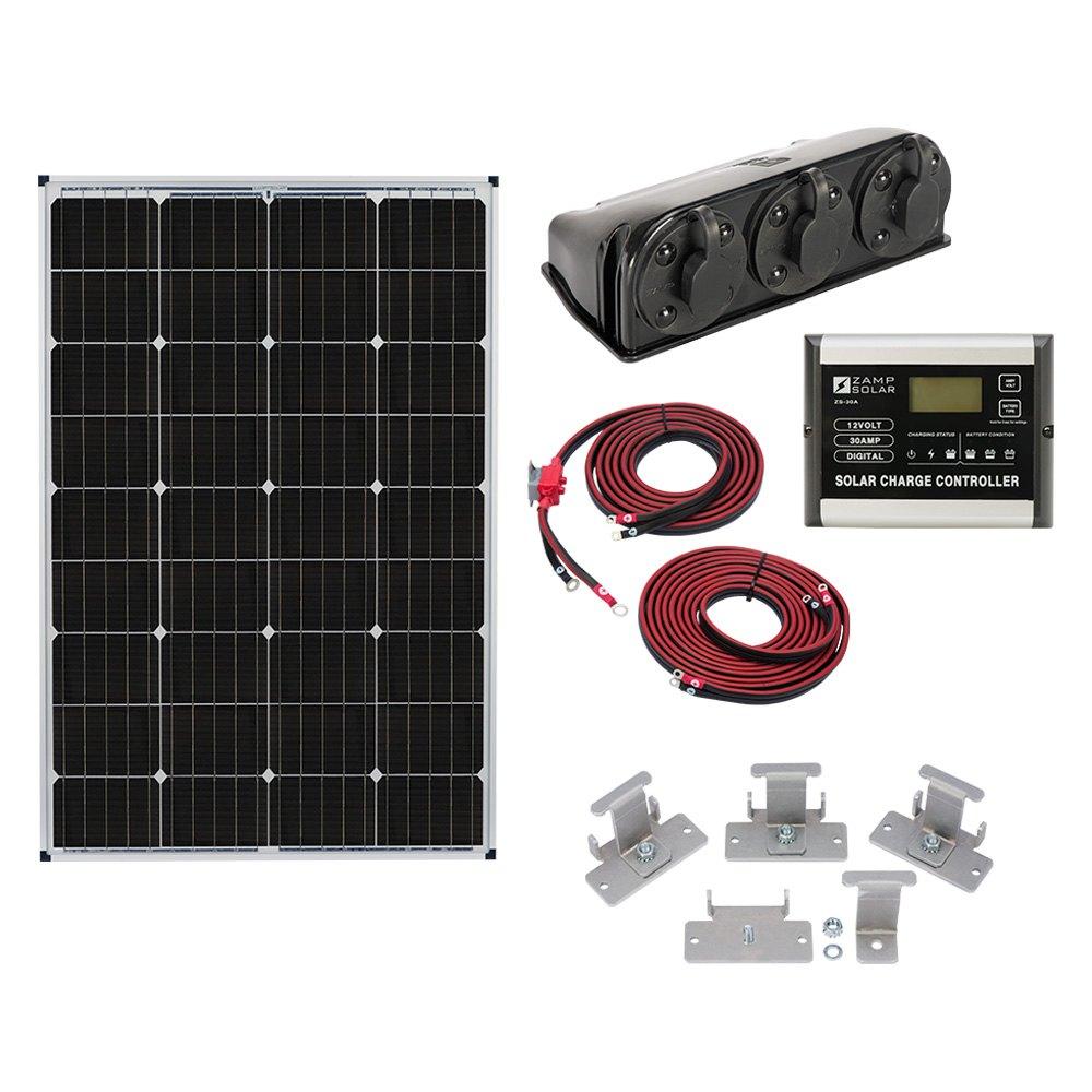 Zamp Solar 174 Kit1003 Roof Mount Kit Camperid Com