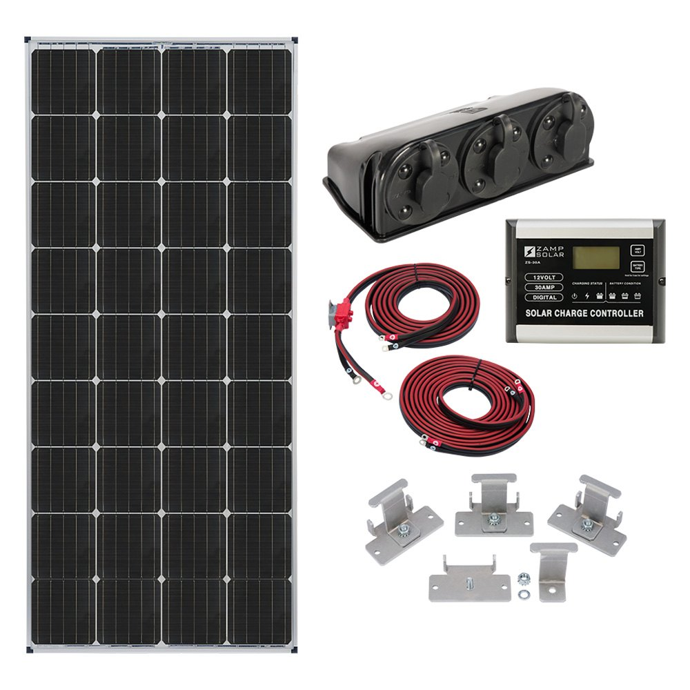 Zamp Solar 174 Kit1005 Roof Mount Kit Camperid Com